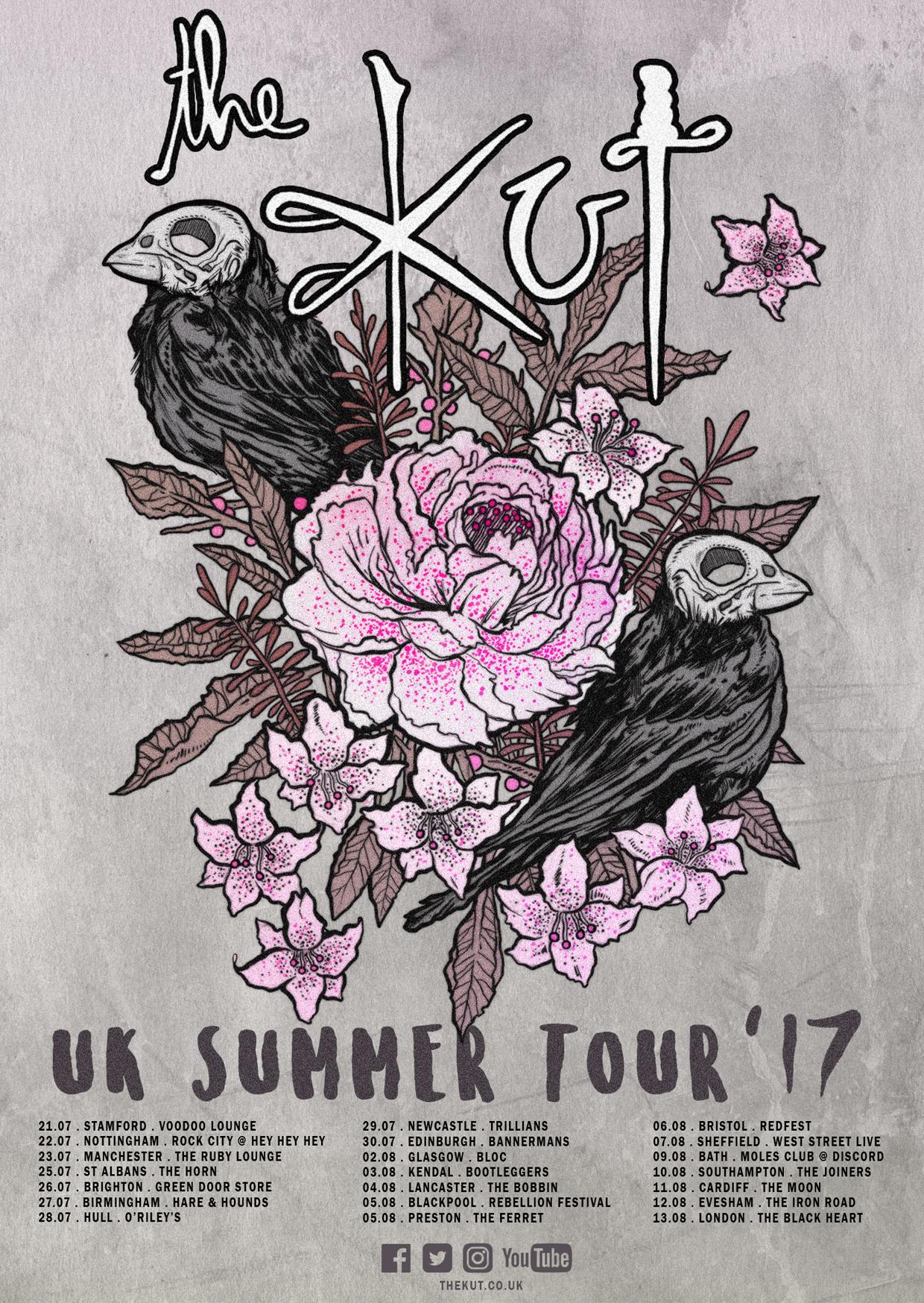 Tour poster SYMBOLS A6